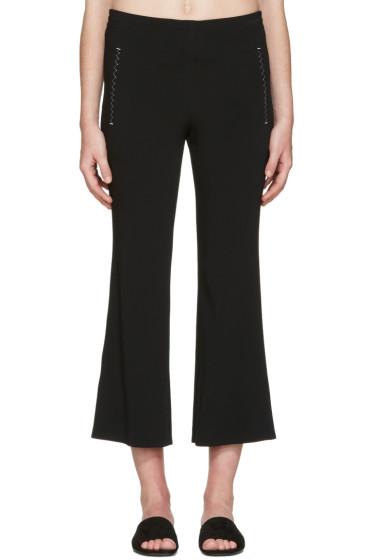 Calvin Klein Collection - Black Kick Flare Lounge Pants