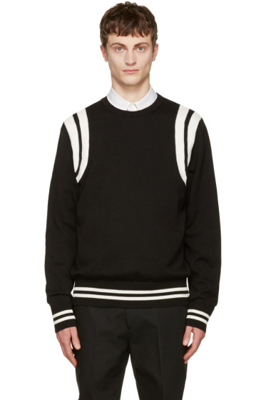 Calvin Klein Collection - Black Riding Sweater