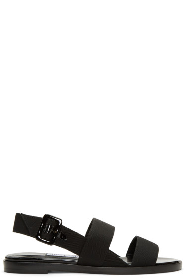 Jimmy Choo - Black Deluxe Sandals