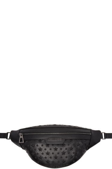 Jimmy Choo - Black Star Zip Pouch