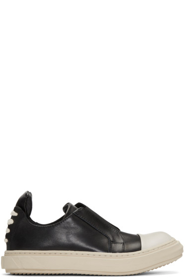 D.Gnak by Kang.D - Black Lace-Up Back Sneakers