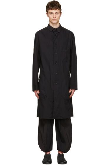 Yohji Yamamoto - Black Long Shirt Jacket