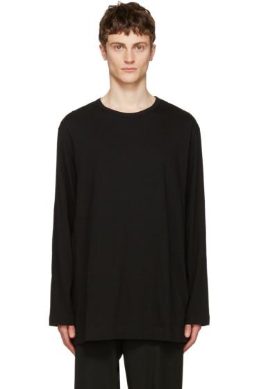 Yohji Yamamoto - Black Back Logo T-Shirt