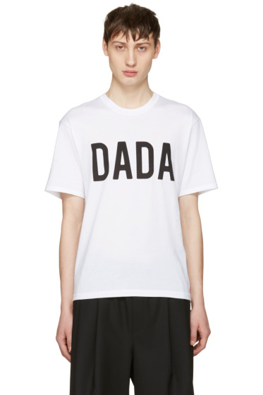 Christian Dada - White Logo T-Shirt