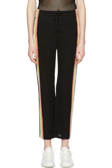 Isabel Marant Etoile - Black Side Stripe Dobbs Lounge Pants