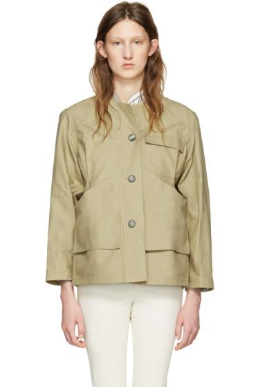 Isabel Marant - Beige Sacha Easy Chic Jacket