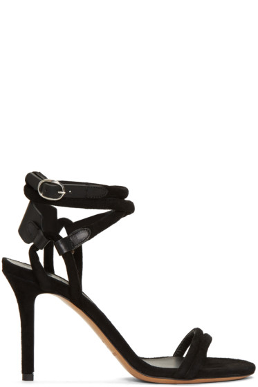 Isabel Marant - Black Aoda Heeled Sandals