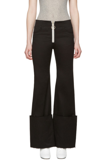 Off-White - Black Cuff Trousers