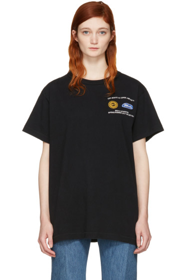 Off-White - Black Work T-Shirt