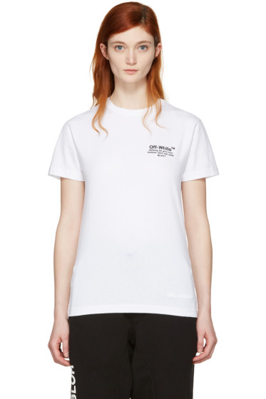 Off-White - White 'Off' T-Shirt