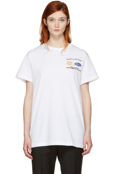 Off-White - SSENSE Exclusive White Work T-Shirt