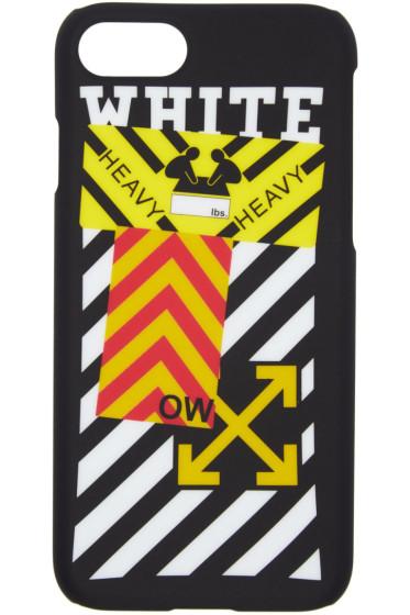 Off-White - Black Diagonal Sticker iPhone 7 Case