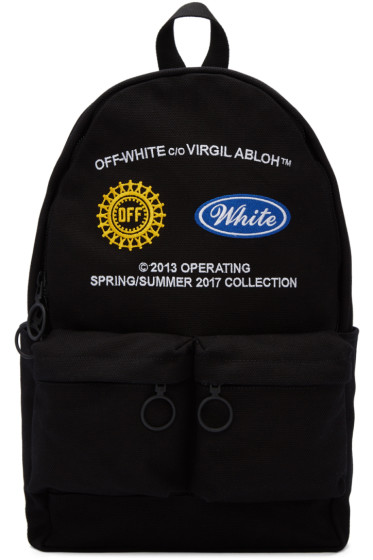 Off-White - Black Work Backpack