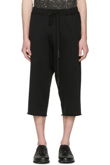 Nude:mm - Black Long Shorts