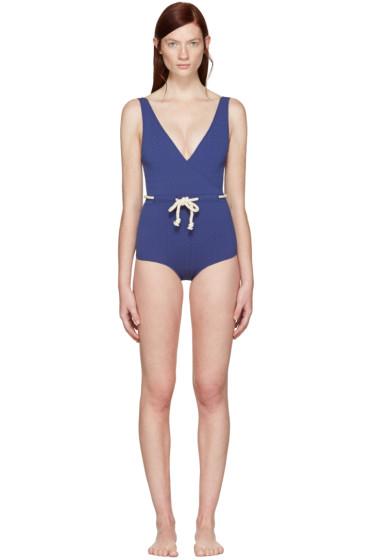 Lisa Marie Fernandez - Navy Yasmin Swimsuit