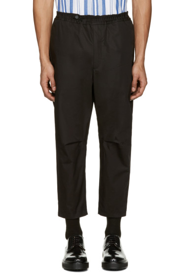 OAMC - Black Cropped Isle Trousers