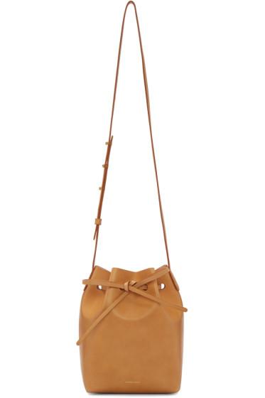 Mansur Gavriel - Tan Leather Mini Bucket Bag