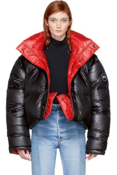 Vetements - Reversible Black Canada Goose Edition Down Coat