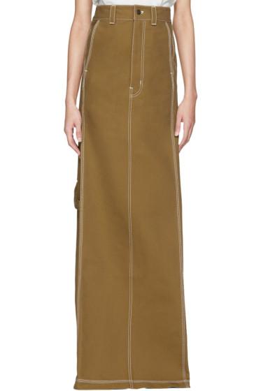 Vetements - Beige Carhartt Edition Push-Up Workwear Skirt