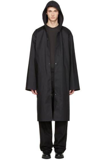Vetements - Black Mackintosh Edition Oversized Rain Coat