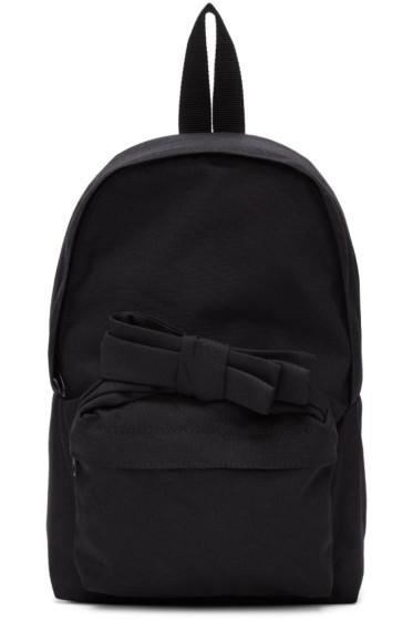 Comme des Garçons Girl - Black Nylon Bow Backpack