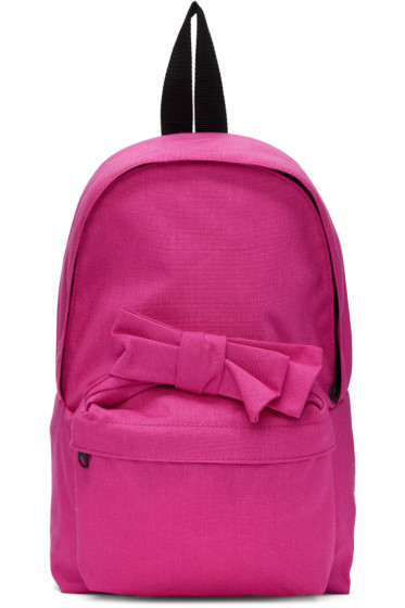 Comme des Garçons Girl - Pink Nylon Bow Backpack