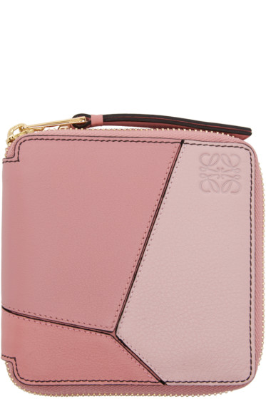 Loewe - Pink Small Puzzle Wallet