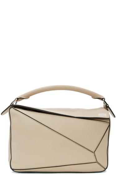 Loewe - Beige Puzzle Bag