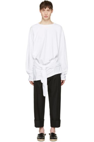 Loewe - White Tied Layer T-Shirt