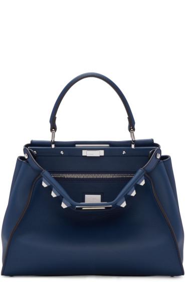 Fendi - Blue Peekaboo Bag