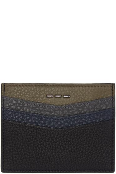 Fendi - Black Leather Card Holder