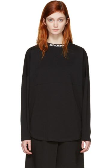 Palm Angels - Black Logo Over Fit T-Shirt