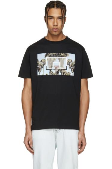 Palm Angels - Black 'Buzer Beater' T-Shirt