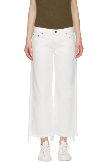 Simon Miller - White Lamere Cropped Jeans