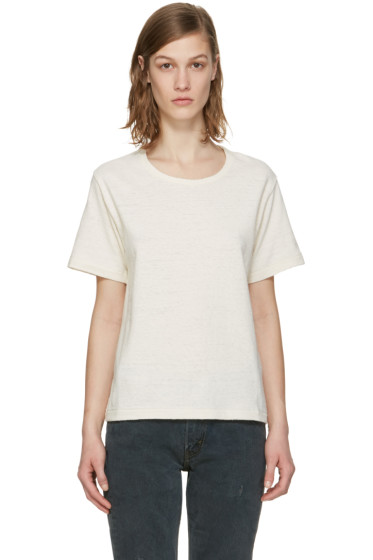 Simon Miller - Ecru Hardin T-Shirt