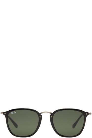 Ray-Ban - Black Metal Bridge Sunglasses