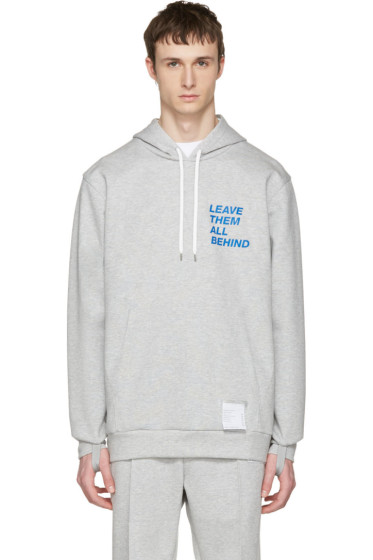 Satisfy - Grey Post-Run Hoodie