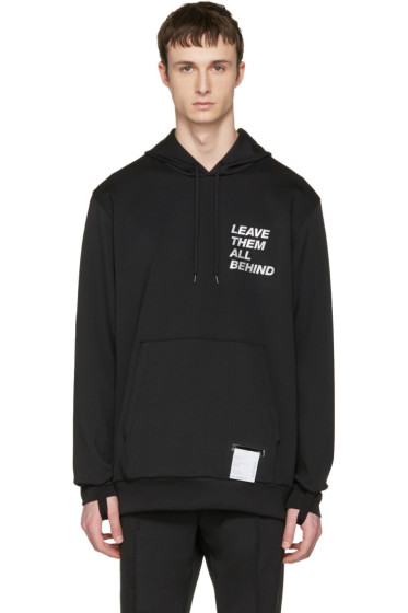 Satisfy - Black Post-Rub Hoodie