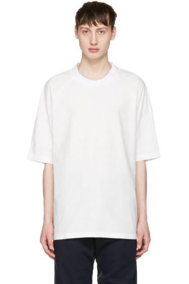 Sunnei - White Oversized T-Shirt