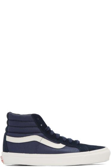 Vans - Navy OG SK8-Hi LX Sneakers
