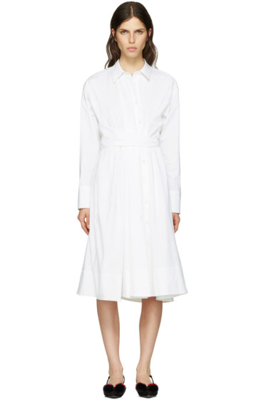 Emilio Pucci - White Shirt Dress