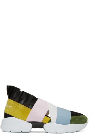 Emilio Pucci - Multicolor Slip-On Sneakers