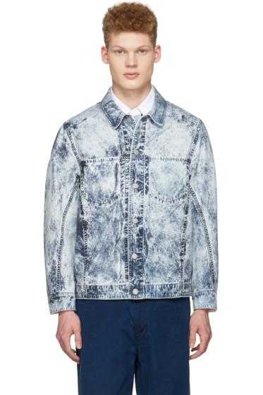 Blue Blue Japan - Blue Cotton Jacket