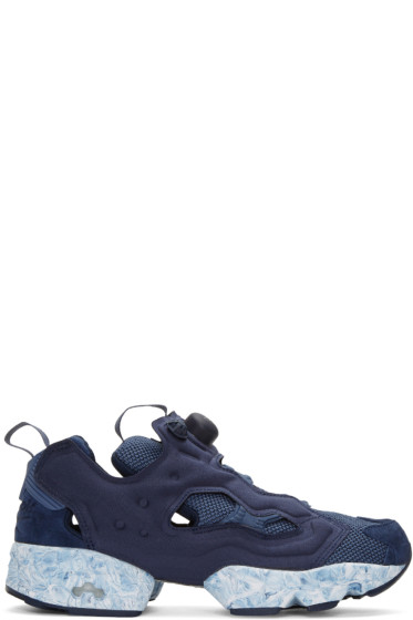 Reebok Classics - Navy InstaPump Fury MTP Sneakers