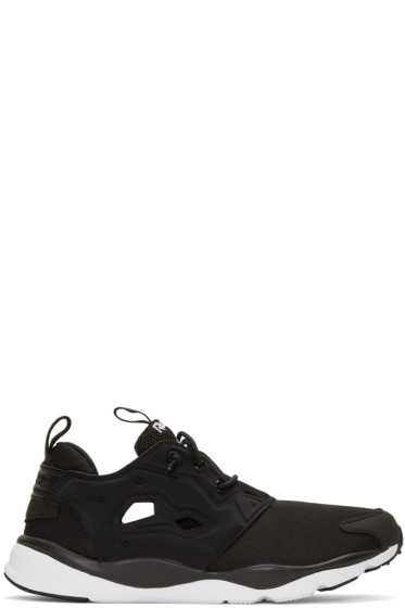 Reebok Classics - Black Furylite Sneakers