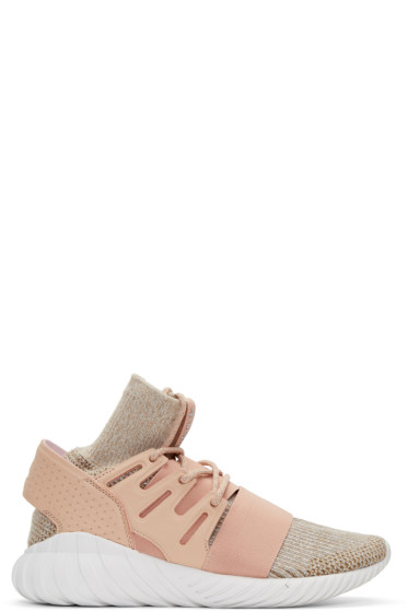 adidas Originals - Pink Tubular Doom PK Sneakers