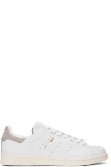adidas Originals - White Stan Smith Sneakers