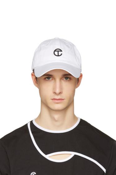 Telfar - White Logo Cap