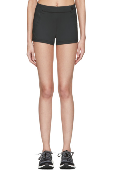 adidas by Stella McCartney - Black Spandex Train Shorts