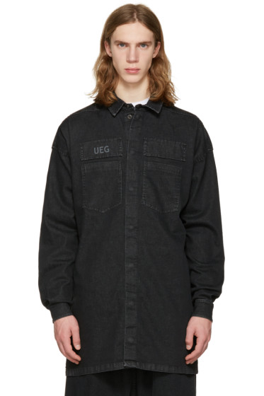 UEG - Black Denim Shirt